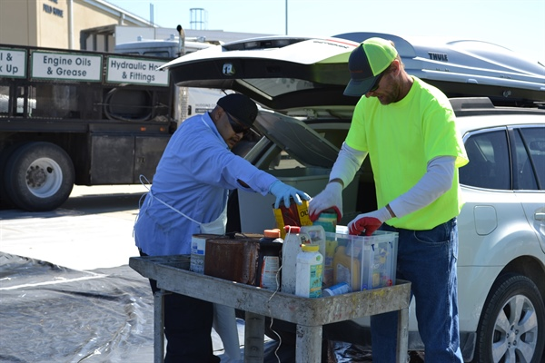 Household Hazardous Waste Cleanup April 27