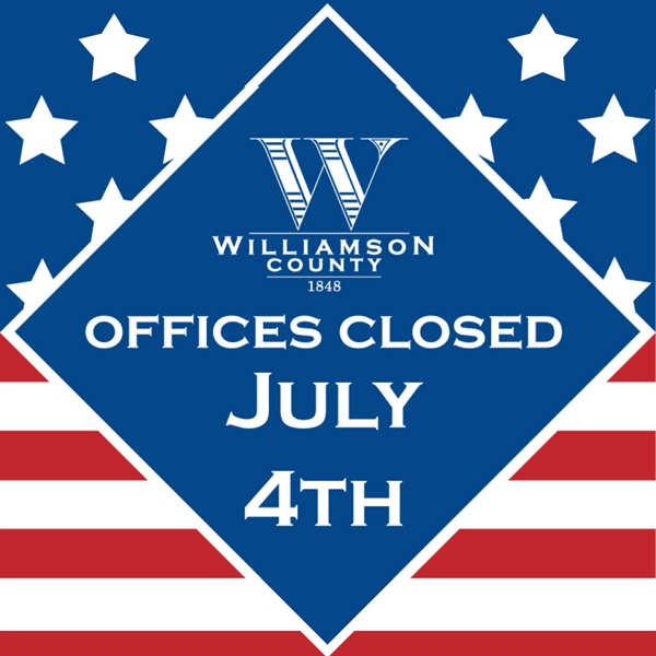 County Offices Closed for July 4th Holiday
