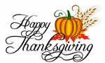 Thanksgiving observed- all offices closed