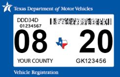 August Vehicle Registration Grace Period Ends