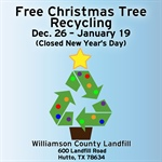 Williamson County Landfill Offers Christmas Tree Recylcing